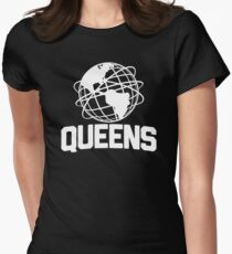 Queens NYC Unisphere Women's Fitted T-Shirt
