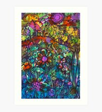 Rainbow Field  - Kerry Beazley Art Print