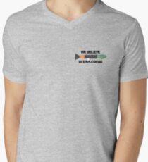 We Believe In Explosions Unturned Merchandise Men's V-Neck T-Shirt