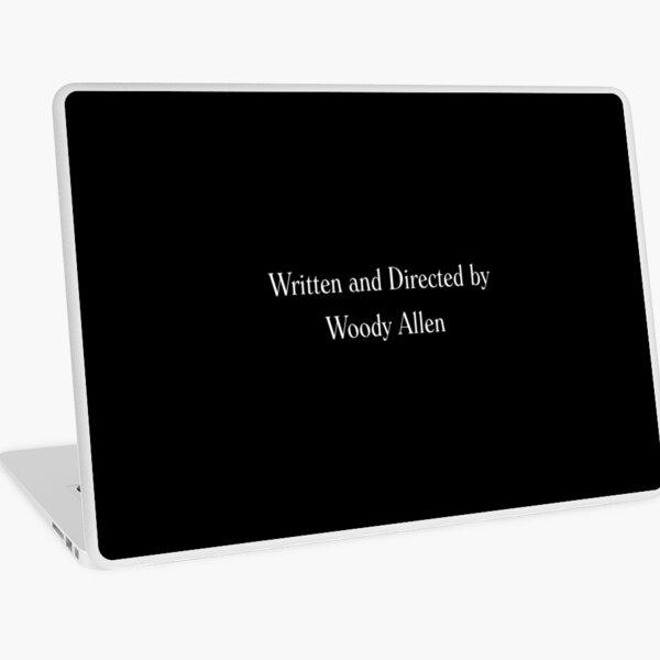 Escrito y dirigido por Woody Allen Movie Credits en Font Vinilo para portátil