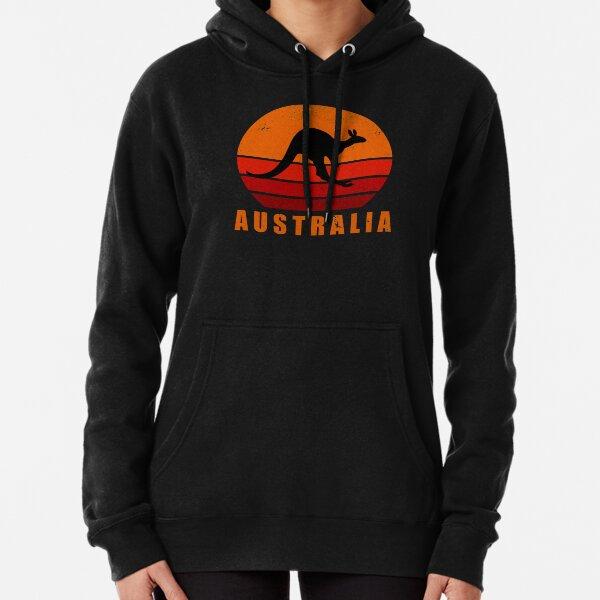 Retro Australia Kangaroo Pullover Hoodie