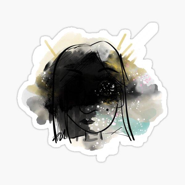 Collision of the Mind Sticker