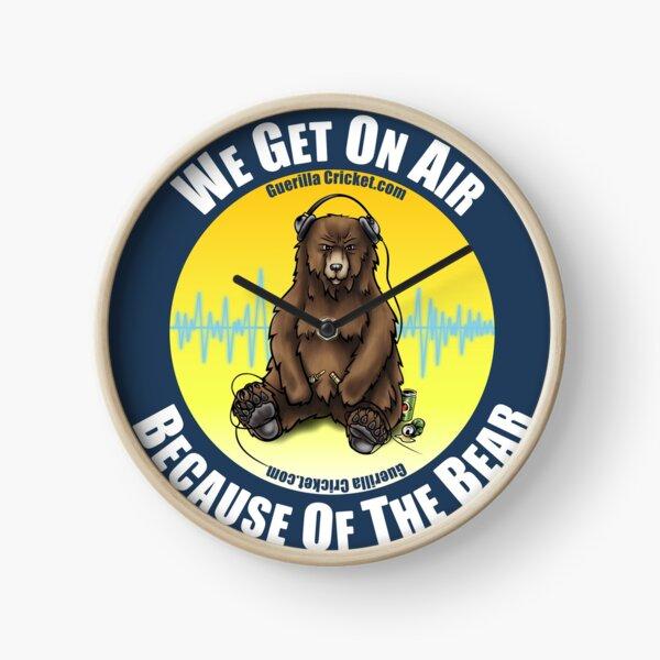 The Bear on air Clock