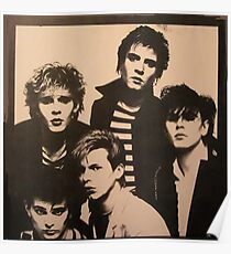 Vintage Duran Duran Poster