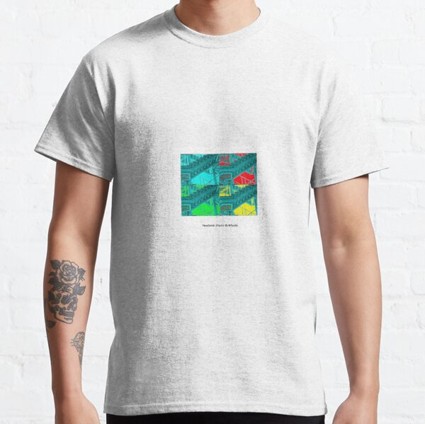 Newlands stairs poster print style  Classic T-Shirt