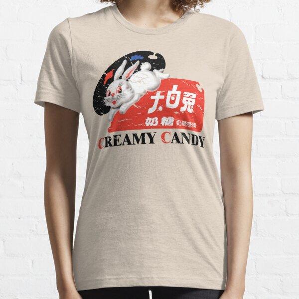 White Rabbit Creamy Candy Vintage Essential T-Shirt