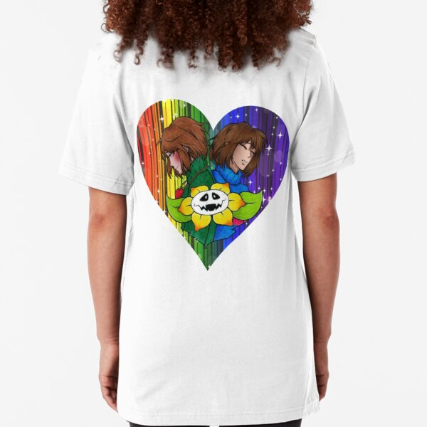 made with LOVE-Undertale Slim Fit T-Shirt