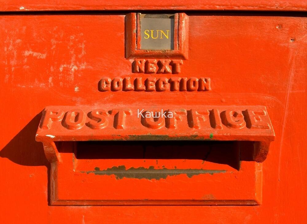 Royal Mail Post Box by Kawka