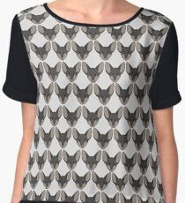 Jasper Tile Women's Chiffon Top