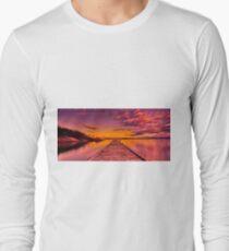 """Freycinet Dawn"" Long Sleeve T-Shirt"