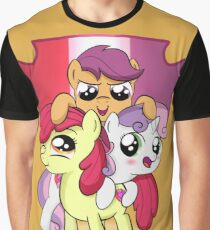 Cutie Mark Crusader Shield Graphic T-Shirt