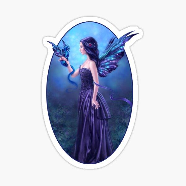 Iridescent Fairy & Dragon Sticker