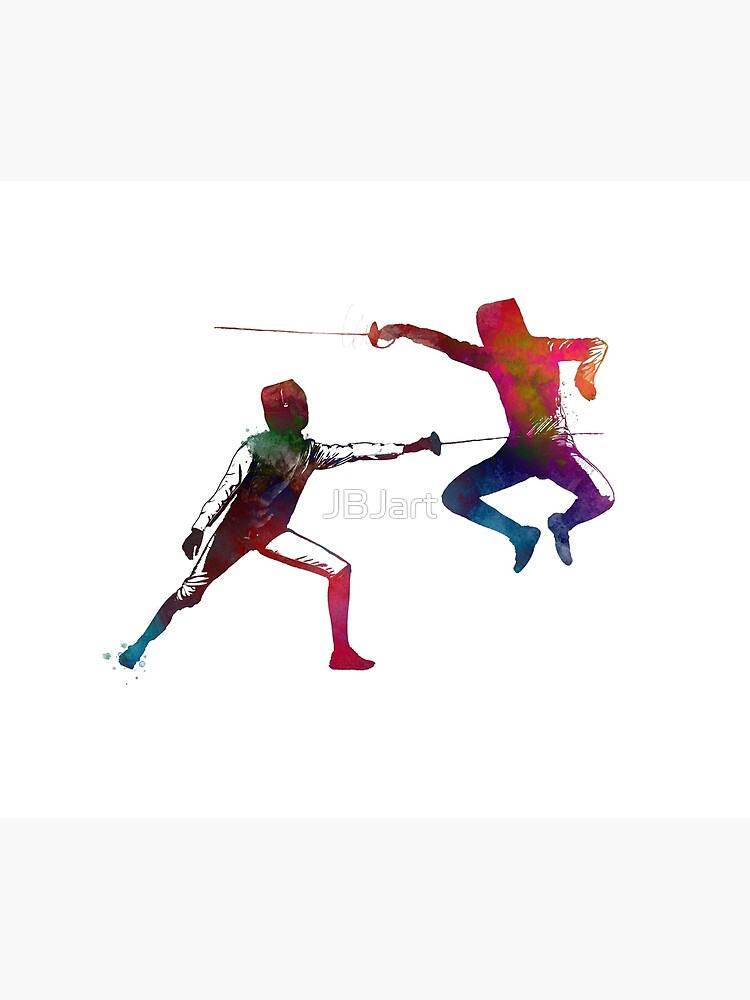 fencing sport art #fencing #sport by JBJart