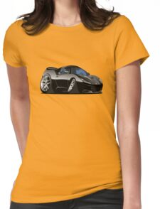 Cartoon Sportcar Womens Fitted T-Shirt