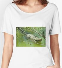 Alligator  Women's Relaxed Fit T-Shirt