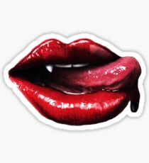 True Blood Fangs Sticker