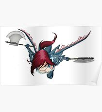 fairy Tail: erza Poster
