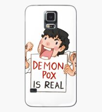 Demon pox is real Case/Skin for Samsung Galaxy