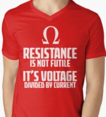 Funny Electrician - Physics T Shirt Men's V-Neck T-Shirt