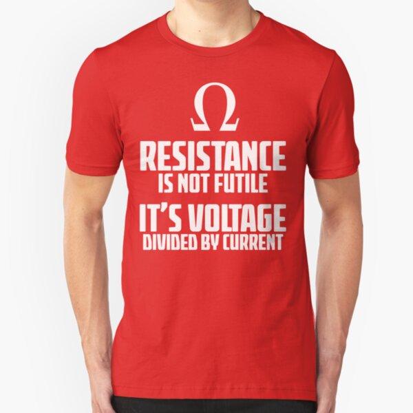 Funny Electrician - Physics T Shirt Slim Fit T-Shirt