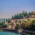 Castello San Pietro Verona by Colin Metcalf