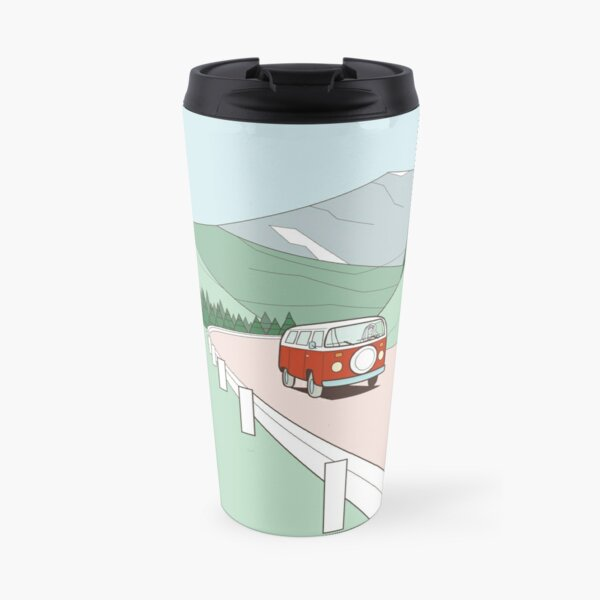 Get in the van and travel Travel Mug