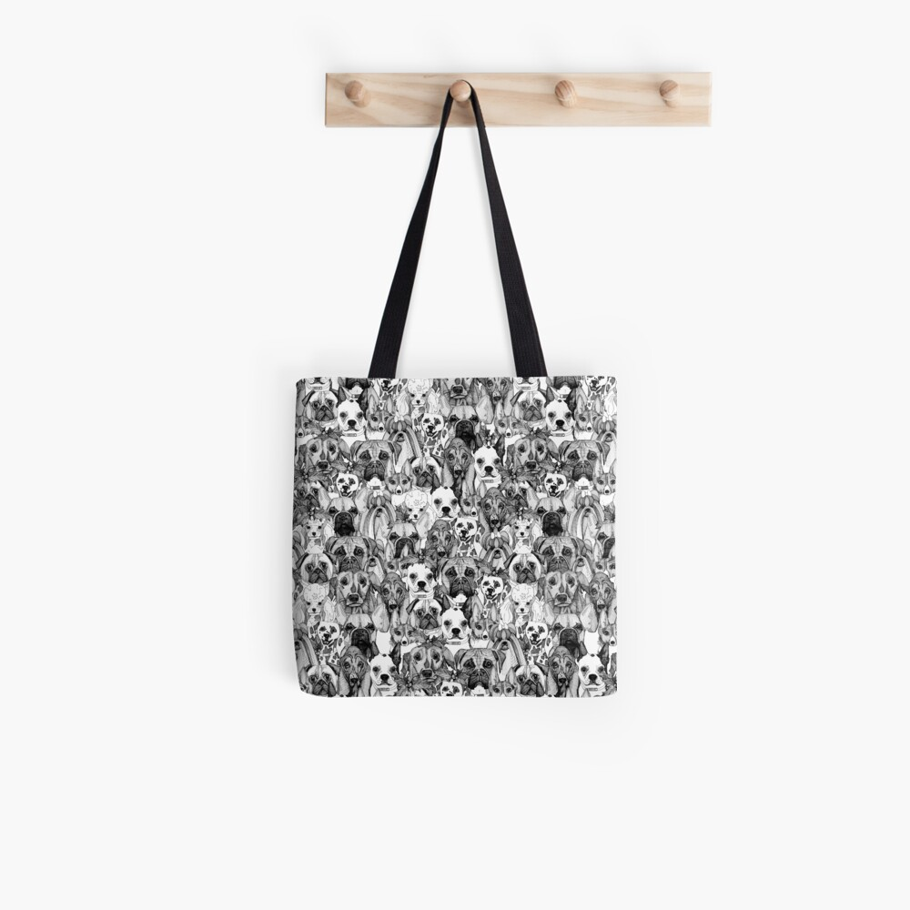 christmas dogs Tote Bag