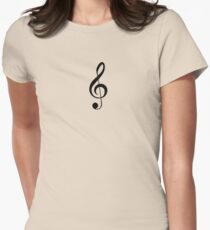 Treble Clef Musical Musician Baby Jumpsuit T-Shirt Bedpsread Duvet Sticker T-Shirt