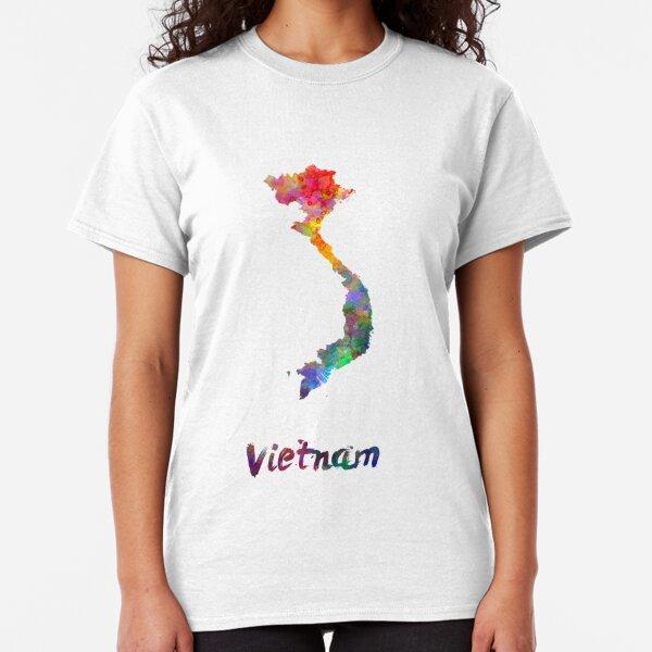 Vietnam in watercolor Classic T-Shirt
