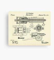 Machine Gun-1862 Canvas Print