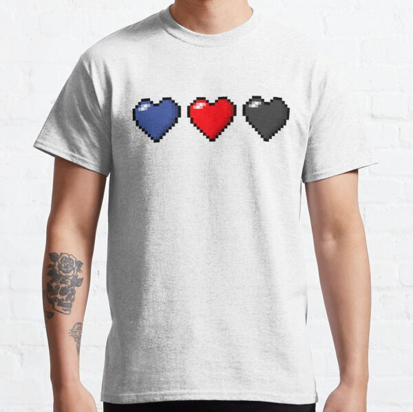 Polyamory Pixel Hearts Classic T-Shirt