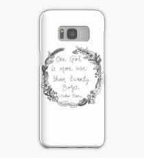 Peter Pan - One Girl Wreath Samsung Galaxy Case/Skin