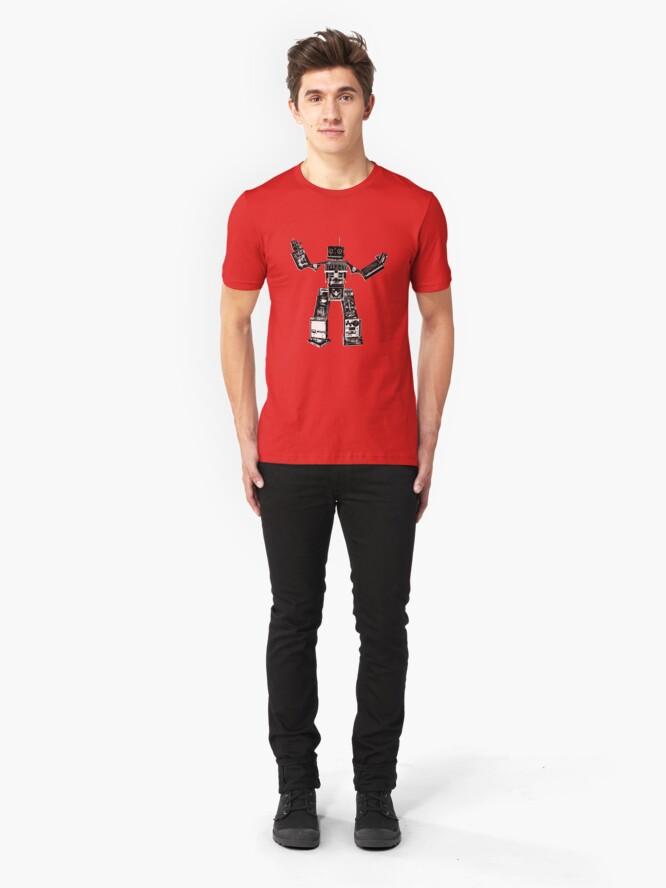 Alternate view of Music Machine Slim Fit T-Shirt