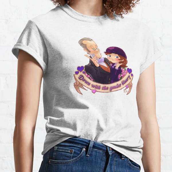 Sofia The First - Down With The Gender Binary Classic T-Shirt