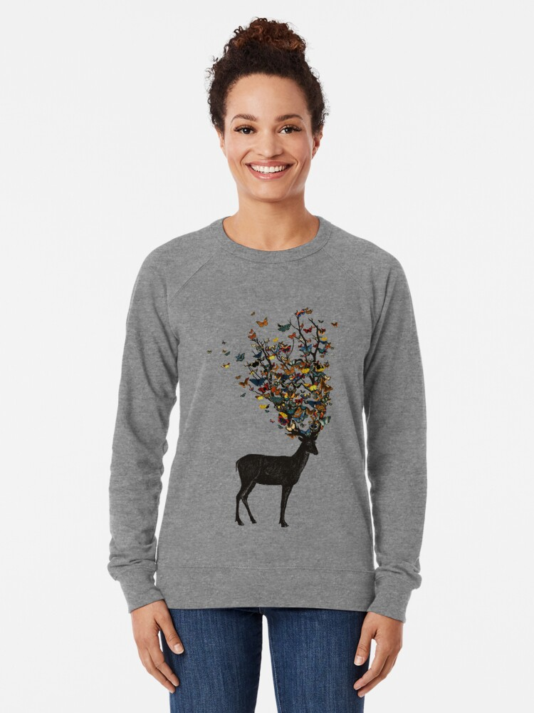 Alternate view of Wild Nature Lightweight Sweatshirt