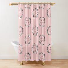 Peter Pan - One Girl Wreath Shower Curtain