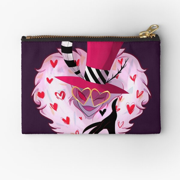 Valentino flying kiss Zipper Pouch
