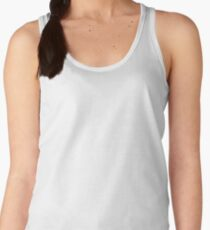 Cube Whale (outline) Women's Tank Top