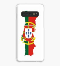 Flag Map of Portugal  Case/Skin for Samsung Galaxy