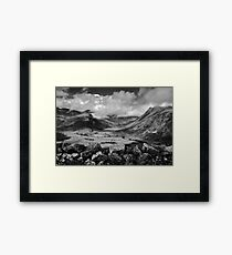 Side Pike Valley View Framed Print