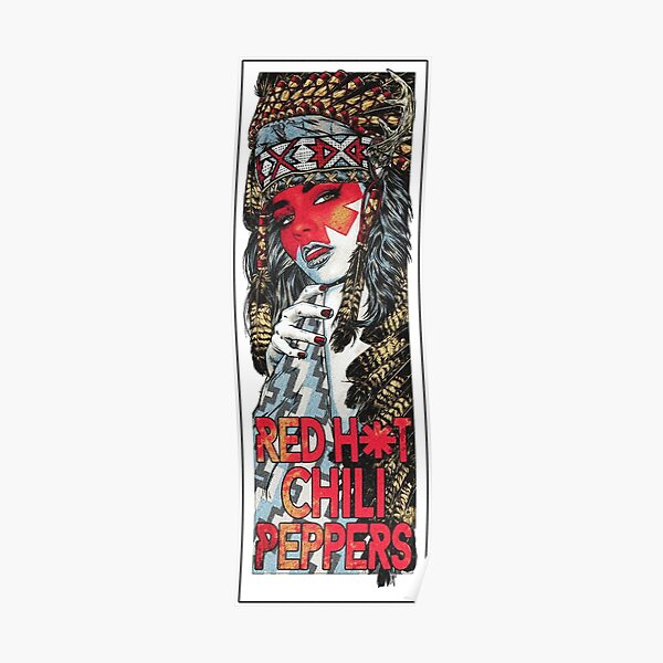 Red Hot Chilli Peppers  Poster