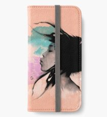 Psychedelic Blow Japanese Girl Dream iPhone Wallet/Case/Skin