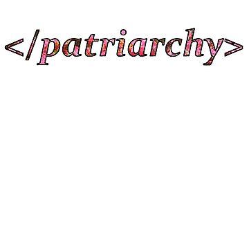 flower </patriarchy> by MadeleineKyger