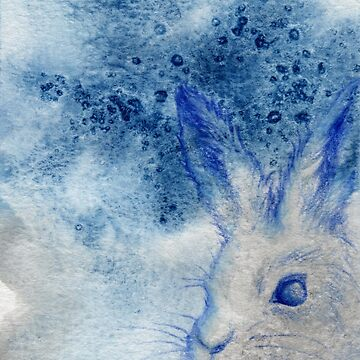 Arctic Hare by Flyttamouse