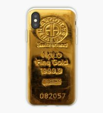 Switzerland Fine Gold iPhone Case