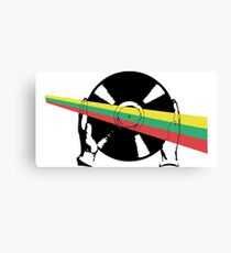Lithuania Vinyl Canvas Print