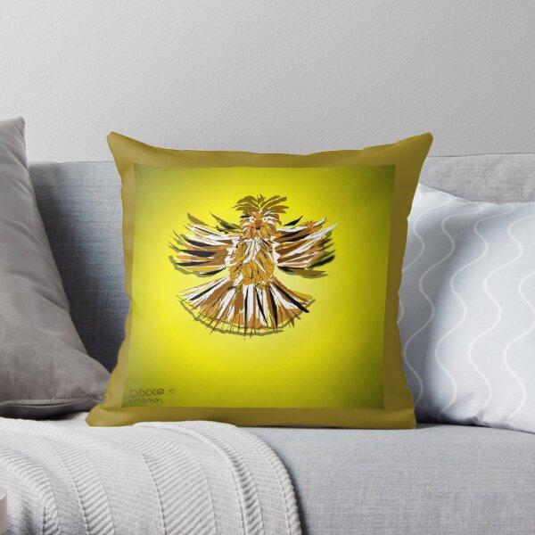 Night Flyer Throw Pillow