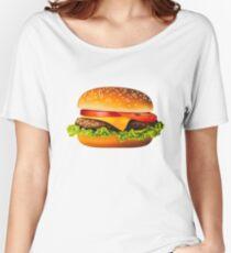 Burger Women's Relaxed Fit T-Shirt