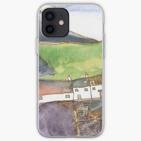 White Cottages 4, Scotland - 2013 iPhone Soft Case