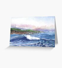 Backshore, Burghead 3, Moray, Scotland - 2011 Greeting Card